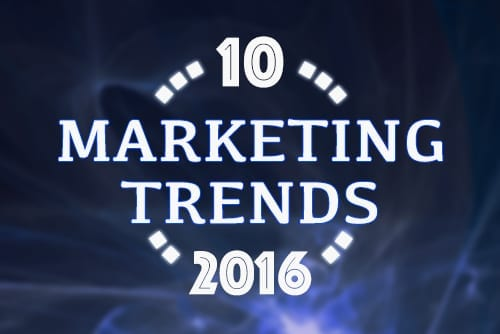 Ten content marketing trends you need for 2016
