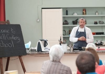 Brian Mellor's Cookery School at Harthill